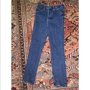 H&M high waist vintage fit jeans